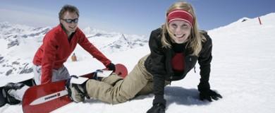 Winter Snowboarder