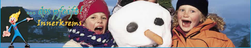 Winter kids schneemann