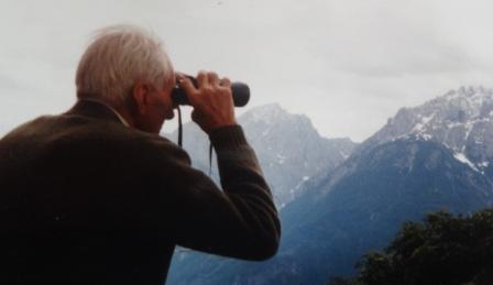 Hermann Moritz mit Weitblick